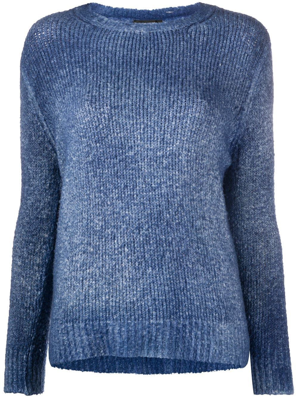 Avant Toi chunky knit jumper - Blue