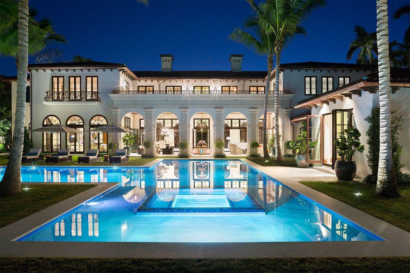 Classic Palm Beach Architecture Mark Timothy Inc Mansions