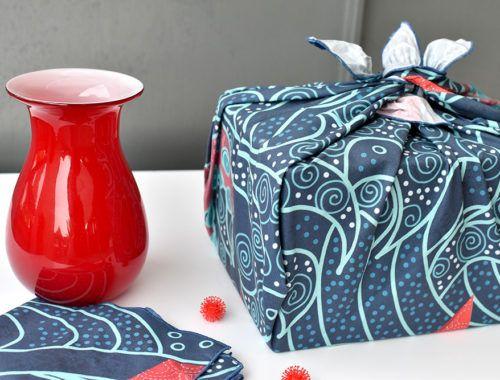 Photo of Furoshiki: Geschenke schön und nachhaltig verpacken – mit Stoffen von Spoonflower – Erbsenprinzessin Blog