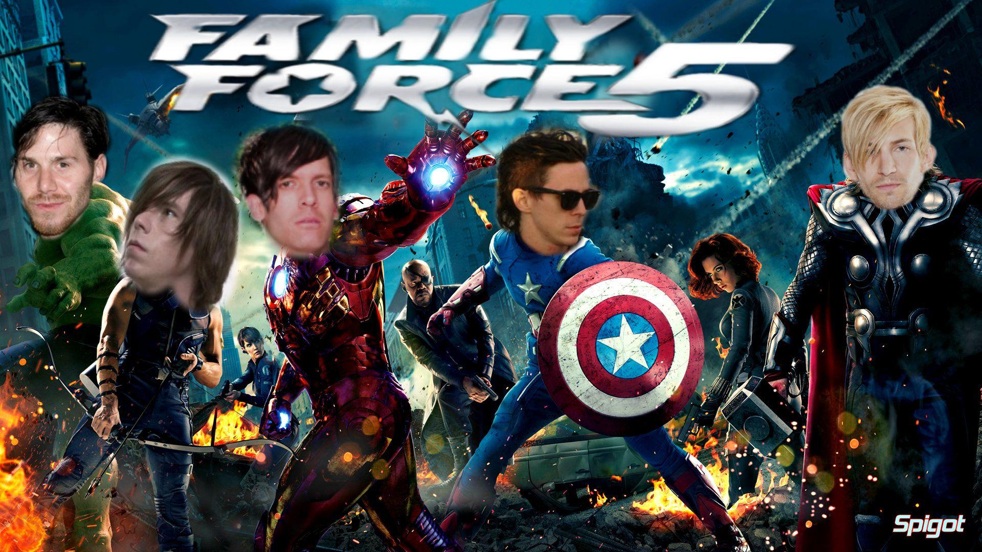Avengers Pinterest: Family Force 5/ The Avengers