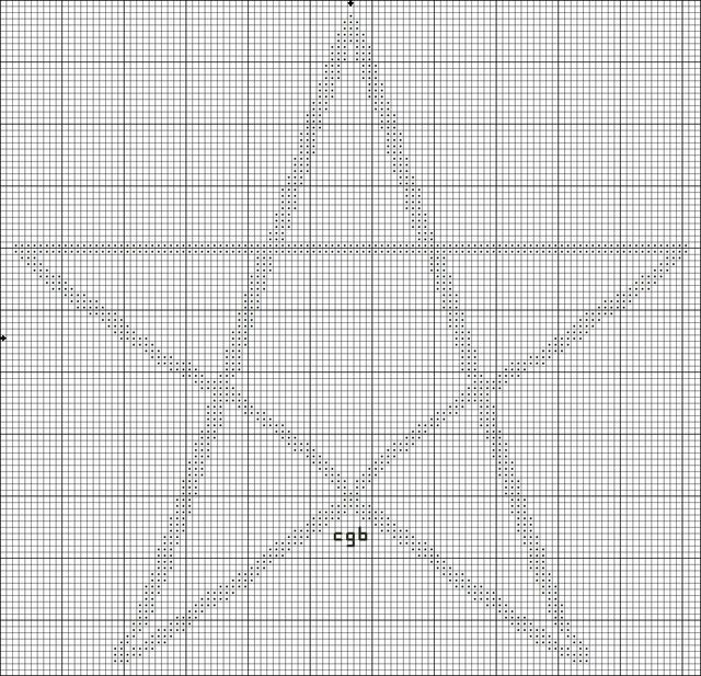 Symbols and Signs Free Patterns of Ancient Symbols Cross stitch - free chart