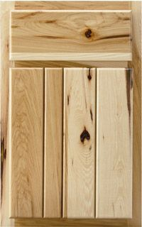 Woodland Cabinetry Solid Wood Slab Door With V Grooves 1 2 Thick Horizontal Stabilizers On