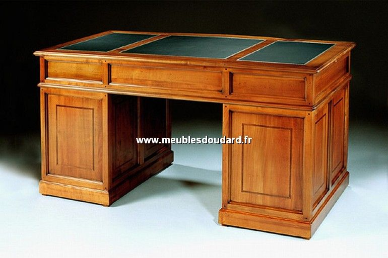 Bureau merisier bureau haut de gamme en merisier ref n table