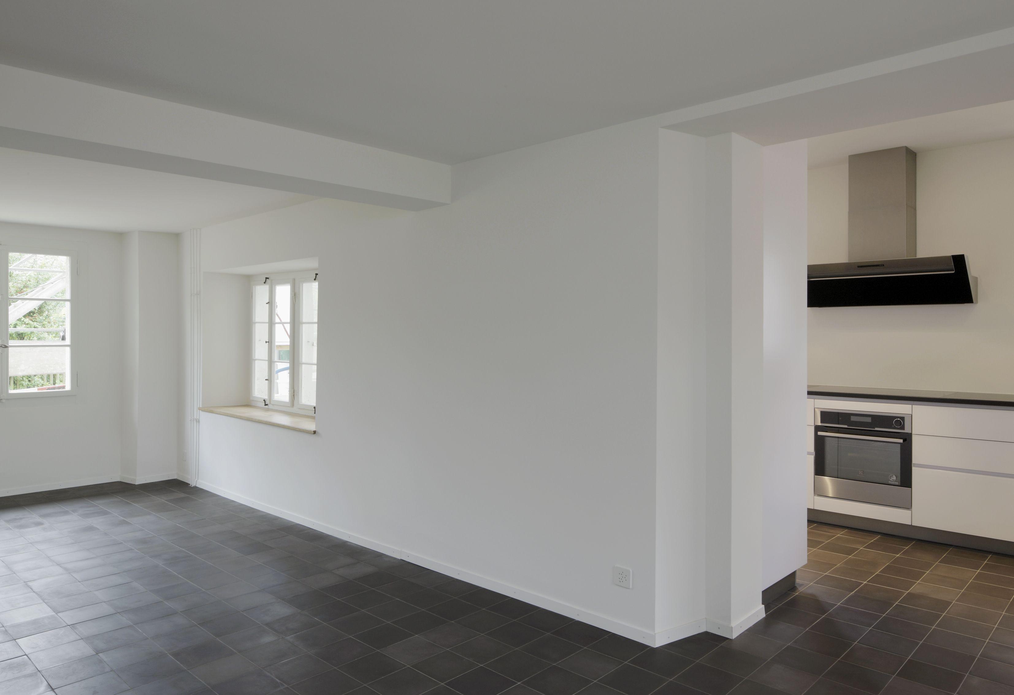 Horgen Renovation historisches Haus - Wohnraum und Küche   Küchen ...