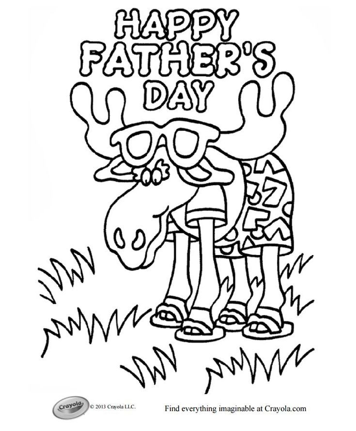 Free Father S Day Coloring Pages Dad Will Love Father S Day Printable Fathers Day Coloring Page Fathers Day Crafts