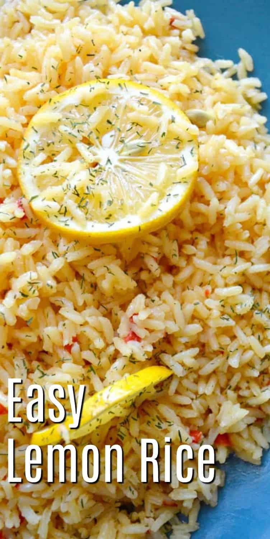 Red Pepper & Lemon Rice