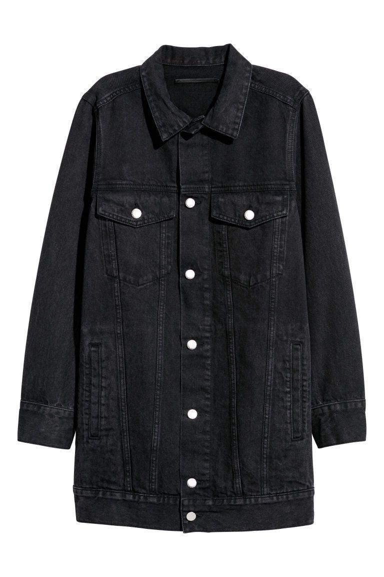 Longue veste en jean   16yo   Vetements, Veste longue et Veste a4f98072ea1a