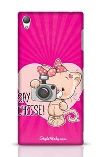 Say Cheese Pink Sony Xperia Z3 Phone Case