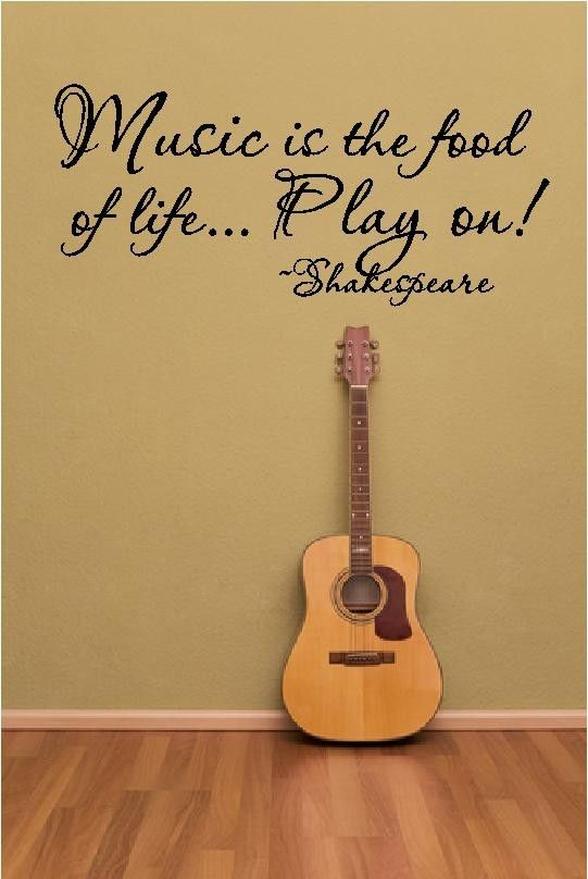Lose yourself in the music vinyl wall sticker saying words musical notes quote