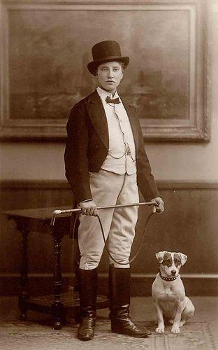 John Bull Vintage Dog Man And Dog Dog Photos