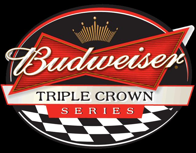 Budweiser Triple Crown Series Logo Budweiser Beer Logo Design Beer Logo