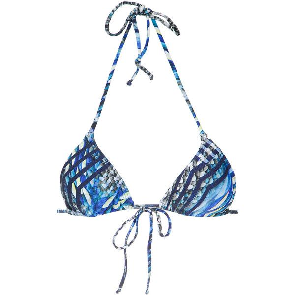 triangle bikini top - Blue Lygia & Nanny Cheap Sale Official Site RQWoWA