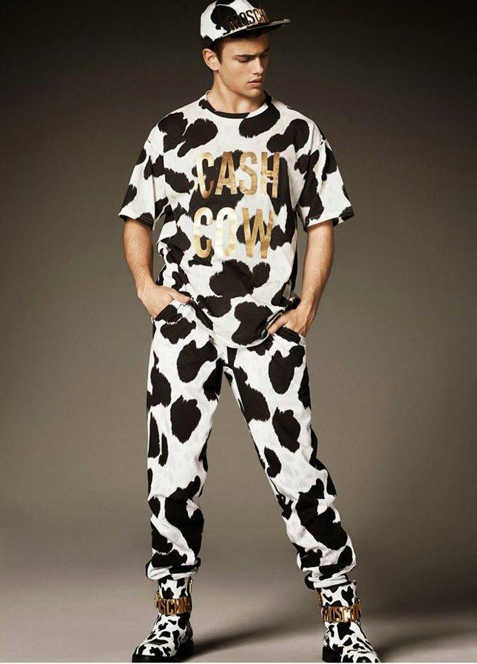 #Menswear #Trends MOSCHINO Fall Winter 2014 #Otoño #Invierno #Moda Hombre #Tendencias