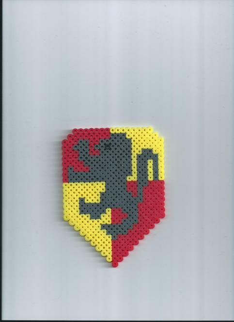 Gryffindor House Harry Potter Perler Beads By Fluffernugget40 Gorgeous Harry Potter Perler Bead Patterns