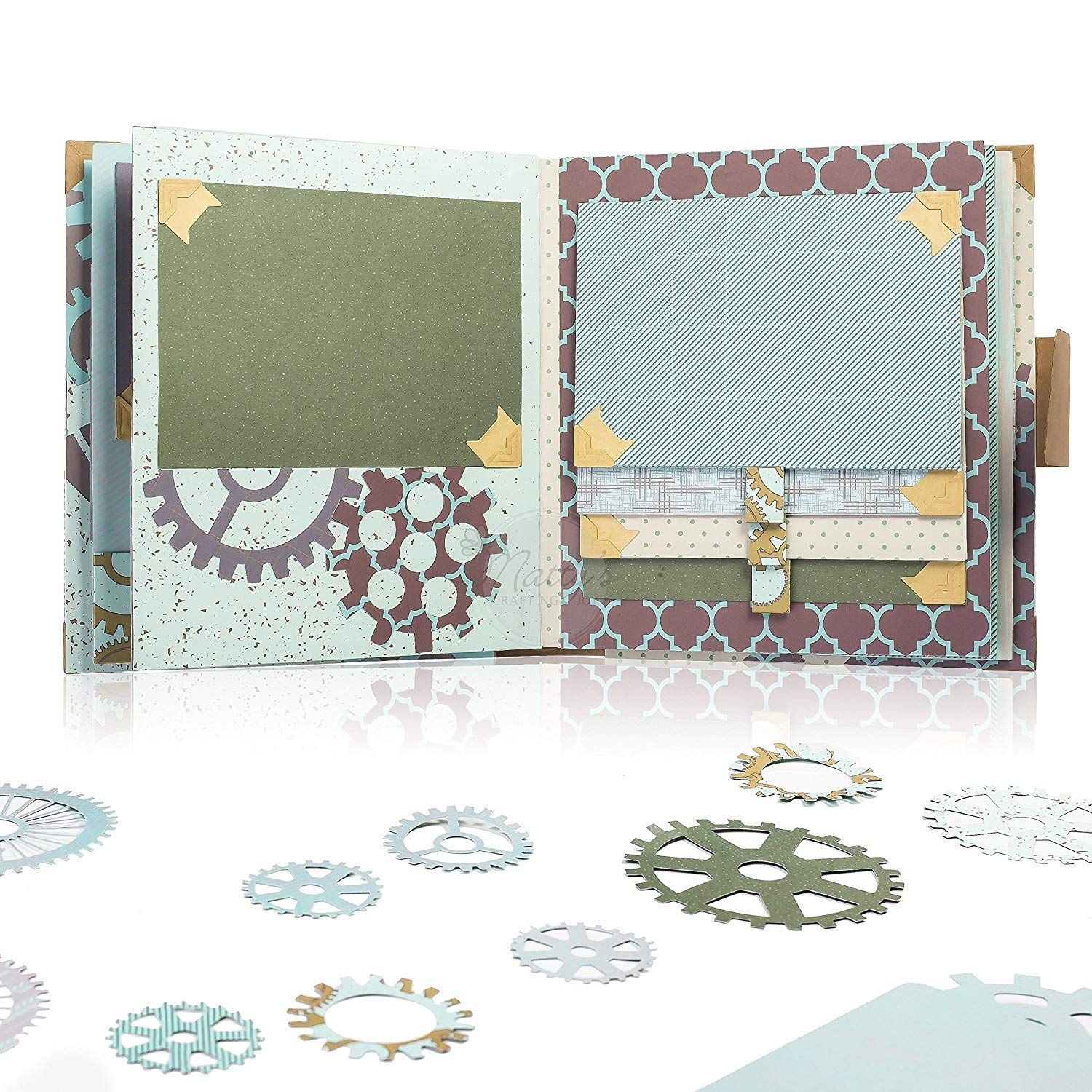 Amazon Com Matty S Crafting Joy Masculine Chic 12x12 Double