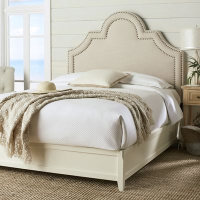 Blake Queen Antique White Bed Frame Bed frames, Queen beds and