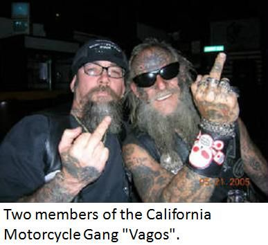 top 10 Motorcycle Club ( USA )   Finger Flippers