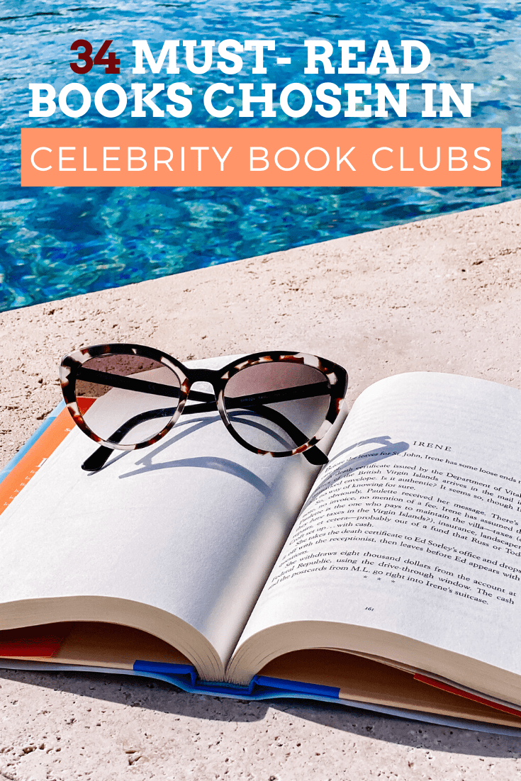 Our Favorite Celebrity Book Club Picks Part 2 Beyond The Bookends In 2020 Celebrity Books Book Club Book Club Books