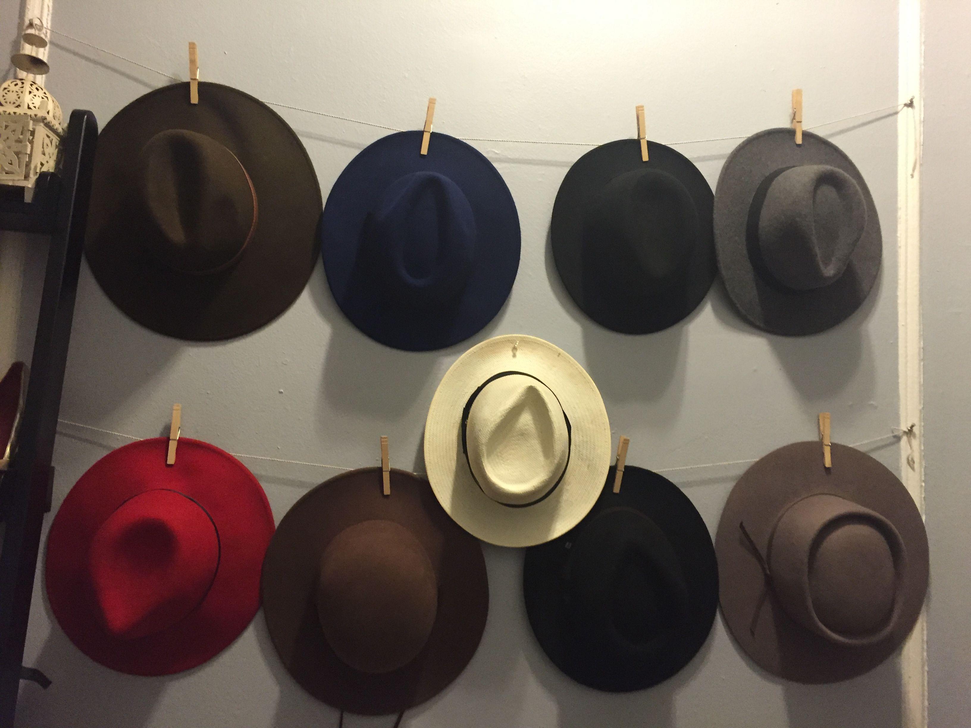 Easy Access Diy Hat Storage Hat Storage Diy Hat The