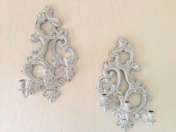 Hey, I found this really awesome Etsy listing at https://www.etsy.com/listing/205483701/vintage-large-wall-ornate-sconce-by