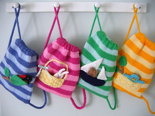 Buddy Bags by Anny Purls (4 variations). worsted weight.