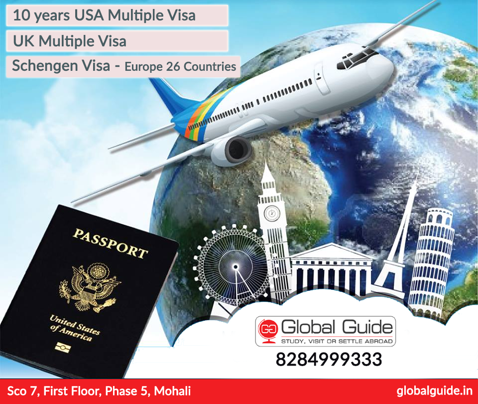 Convert Your Dreams Into Reality Ly For 10 Years Usa Multiple Visa Uk Schengen Europe 26 Coutries Global Guide