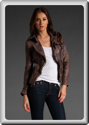 1000  images about Leather jackets on Pinterest | Coats Brown