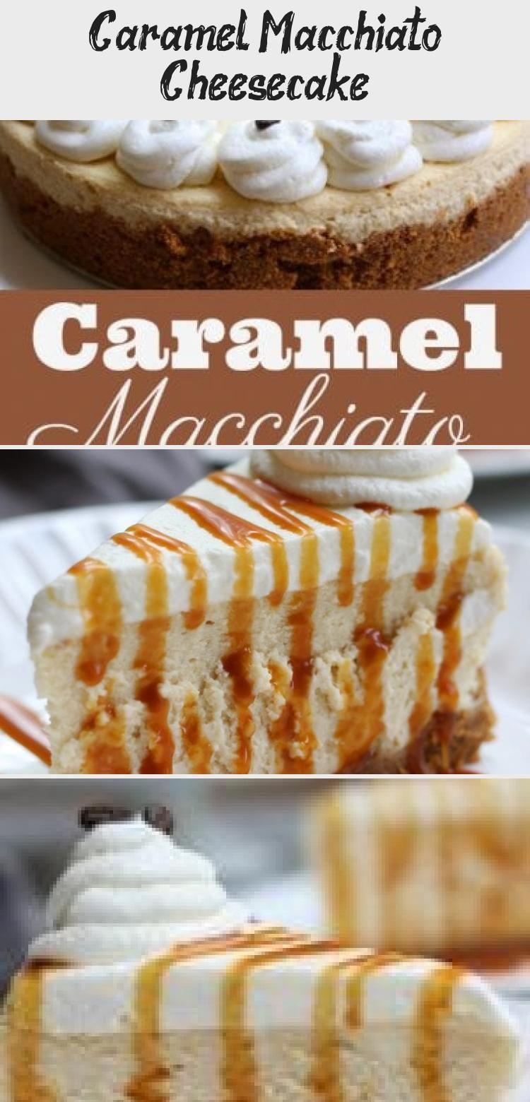 Photo of Caramel Macchiato Cheesecake recipe creates a silky, fluffy and wonderfully deca…