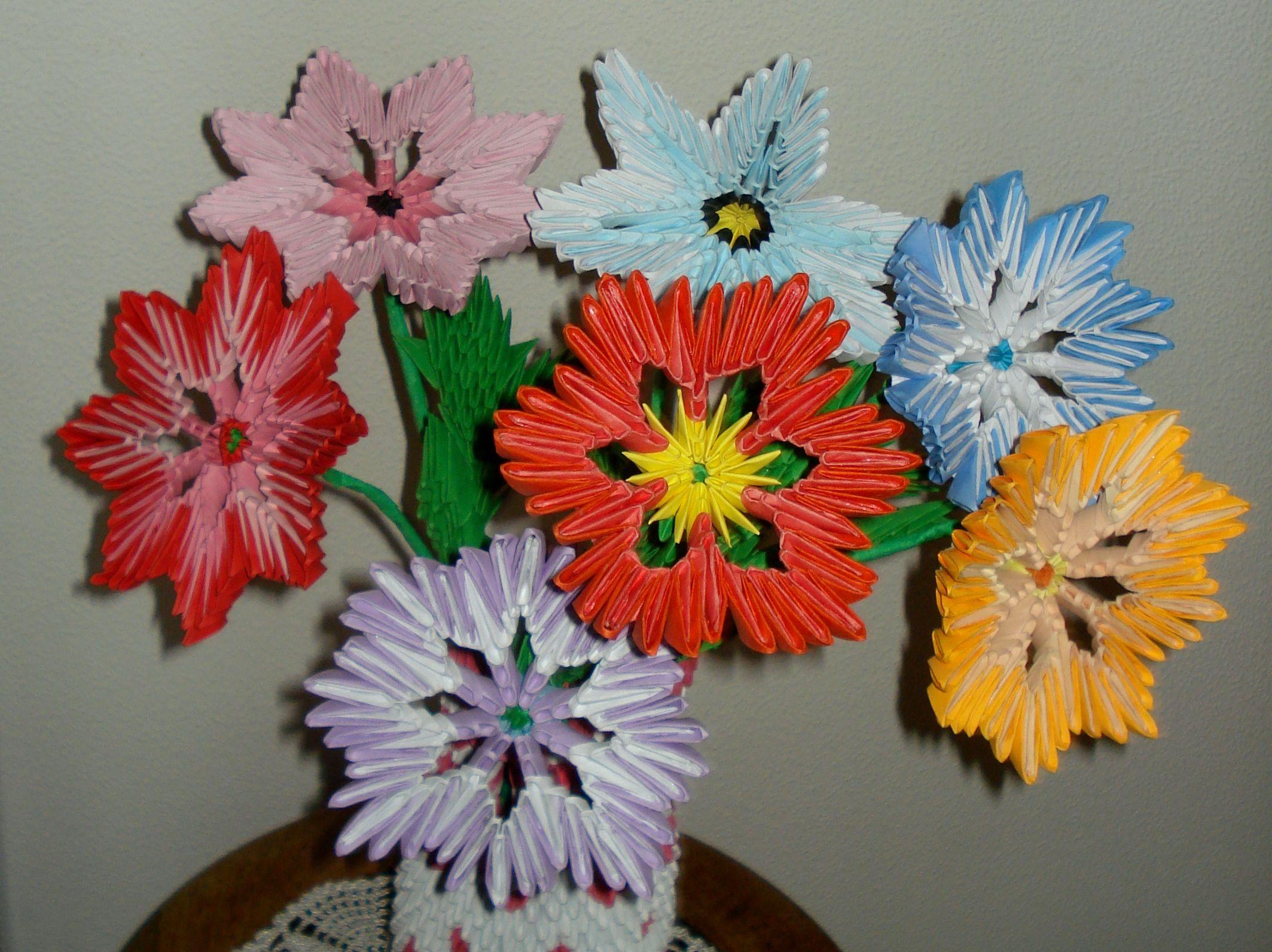 Kwiaty Z Origami Modulnoe Origami Kvilling Origami