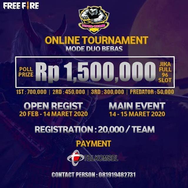 Online Turnamen Mode Duo Bebas