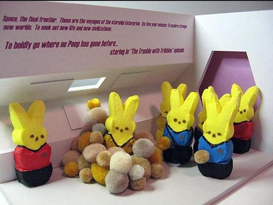 Happy Easter to all my peeps!
