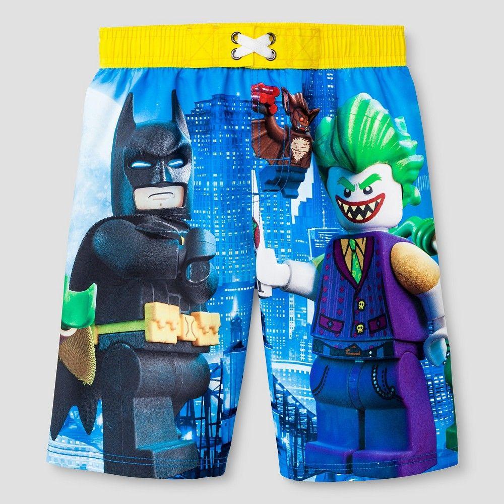 90b185809db04 Lego Boys' Swim Trunks Batman Blue - XS, Boy's | Products ...