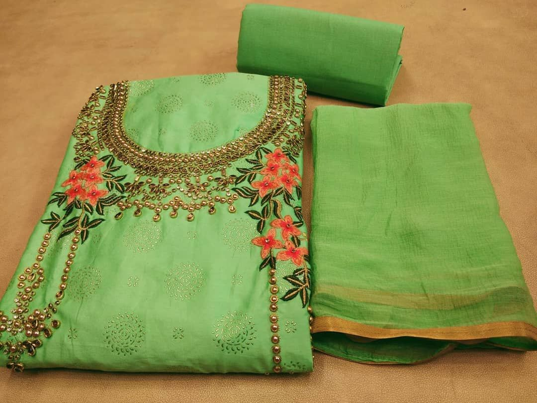 Rs 999 Shipping Charge Ya Top Jaam Silk Gales Cotton Hand