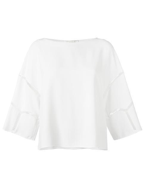 CHLOÉ cut out seam top. #chloé #cloth #top