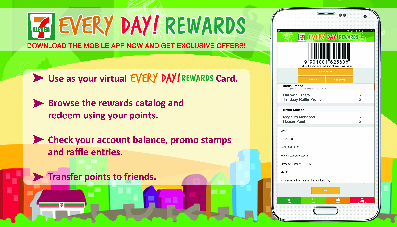 7Eleven Loyalty Program Google Search Mobile app