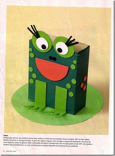 Cajas reciclados 9 portalapices pinterest diy y - Manualidades infantiles recicladas ...