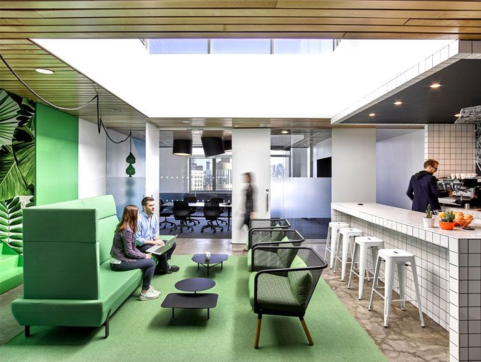 Great Barrows Office Space Design By Ghislaine Vinas