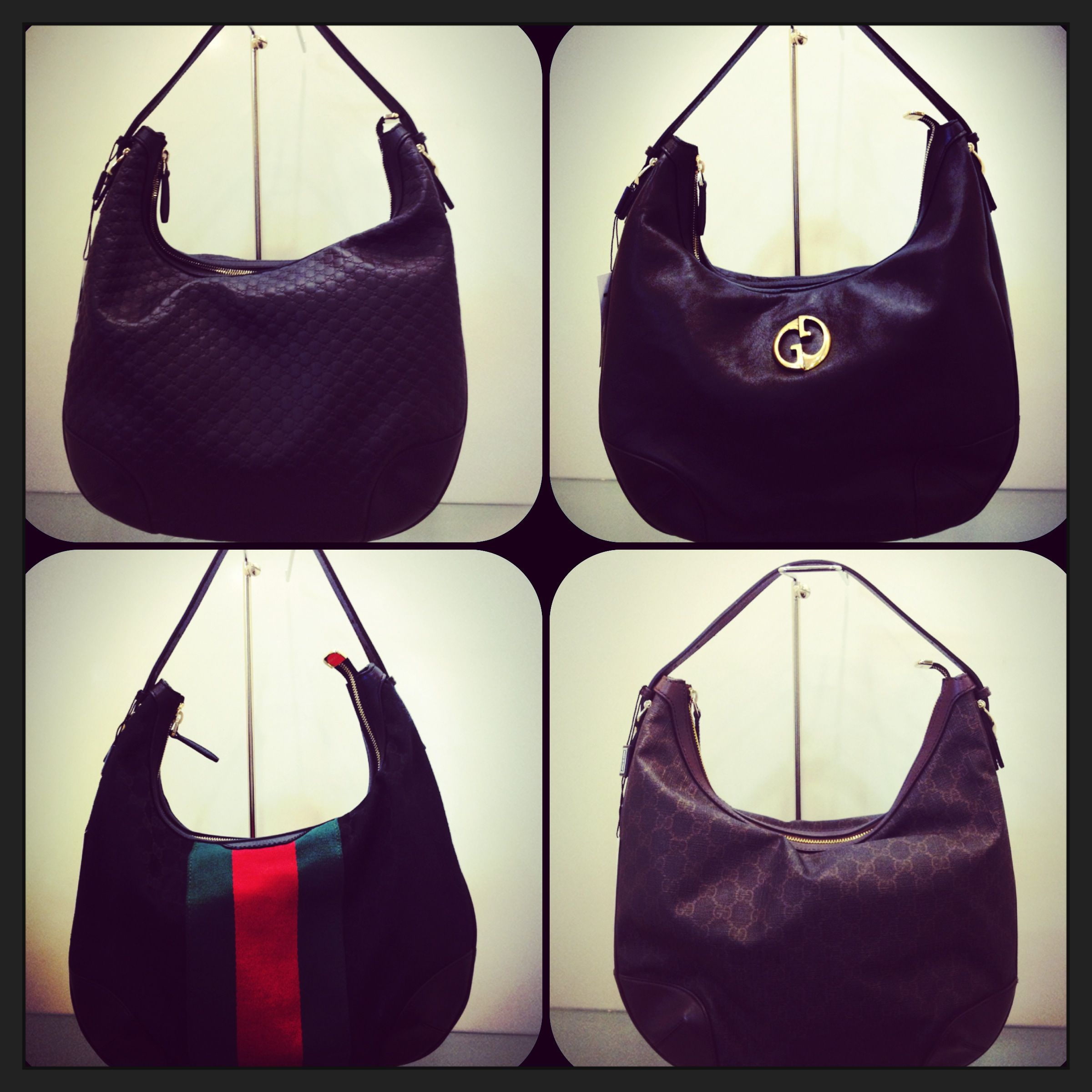 All #gucci #bags #hobo like Jackie Onassis style from $790! Find them on www.shopatvoi.com