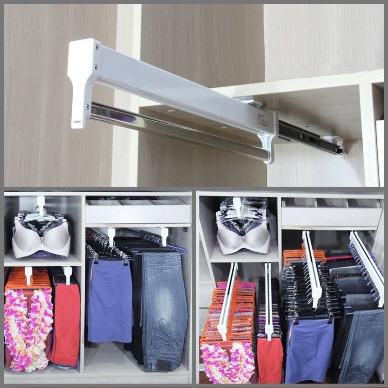 Pull Out Wardrobe Closet