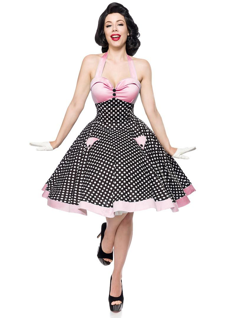 Robe Rockabilly Pin-Up Retro Années 50 Belsira