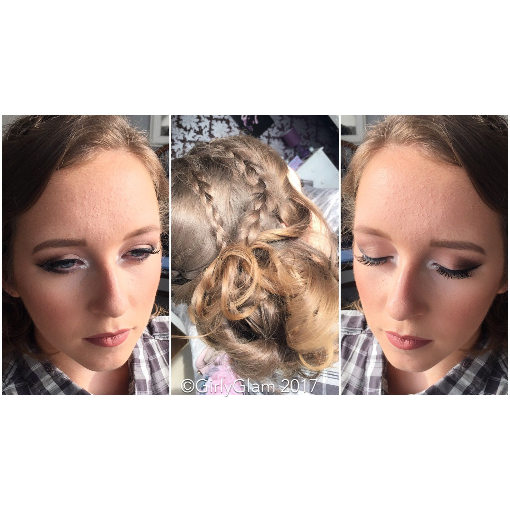 Prom Makeup & Hair for Jade from Ormiston Venture last