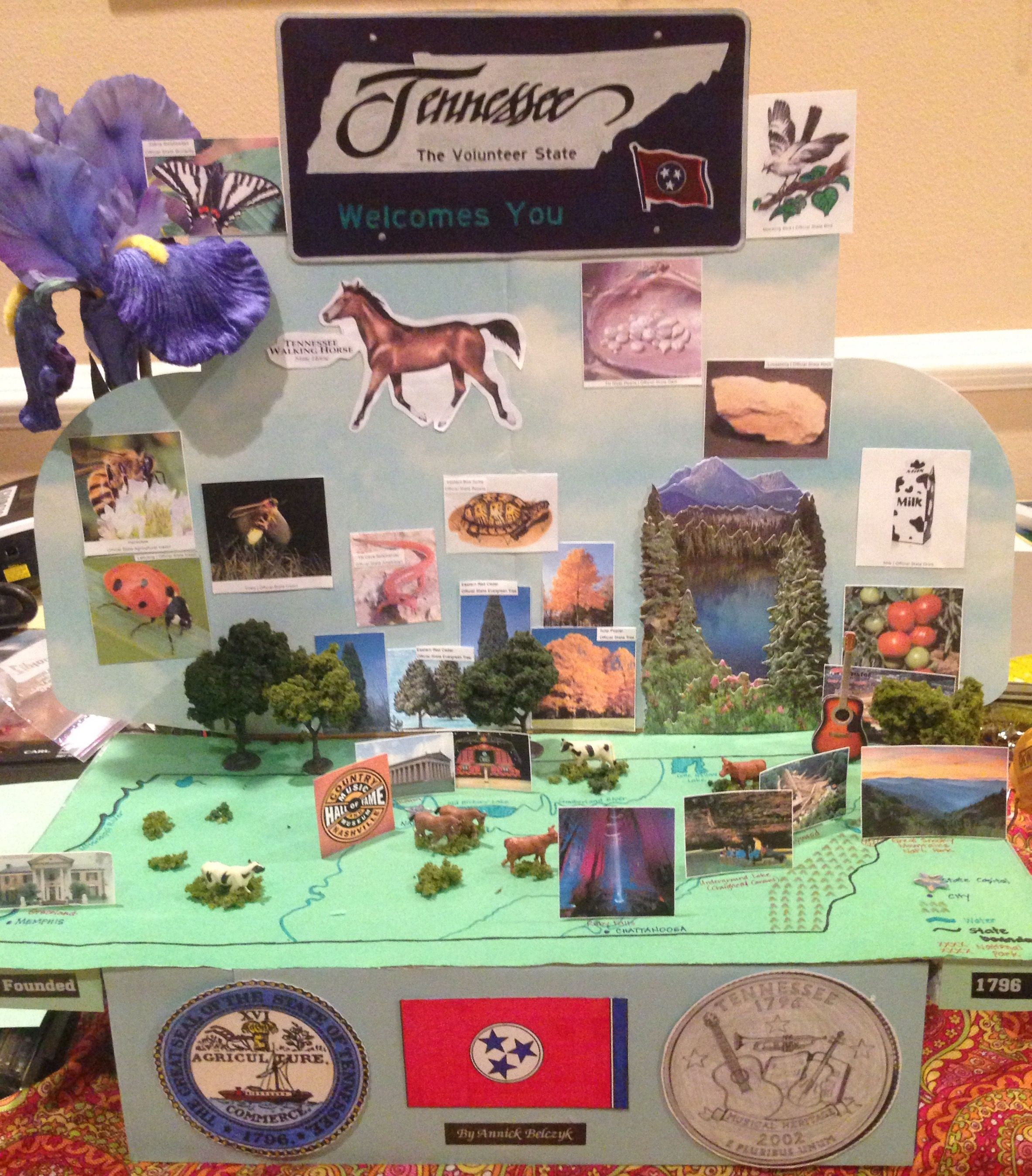 Tennessee State Diorama