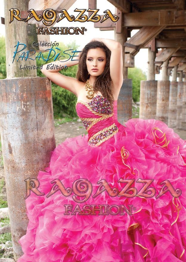 VESTIDOS DE QUINCE AÑOS RAGAZZA FASHION | Quinceanera dresses ...