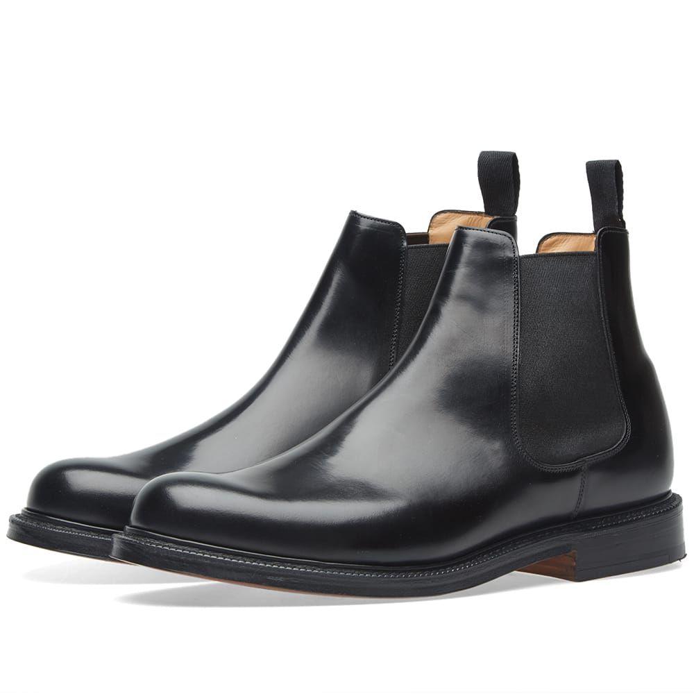 10e35aae0efd CHURCH S CHURCH S WELLS HEAVY CHELSEA BOOT.  churchs  shoes Church s Shoes