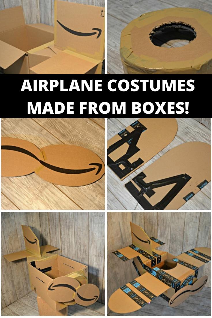 DIY Airplane Halloween Costume Tutorial in 2020 Airplane