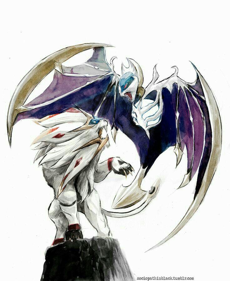 Solgaleo, Lunaala, Cool, Real Life, Realistic; Pokémon