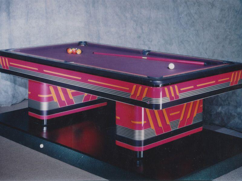 Olhausen Billiards   Olhausen Custom Painted Monarch 8u0027 Pool Tables    Modern Series In San