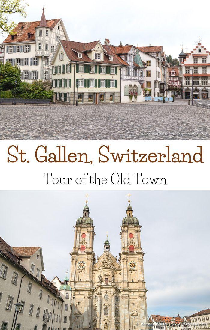 Getting to Know St. Gallen, Switzerland- Tour of St. Gallen's Old Town (Blog post, travelyesplease.com) | #Switzerland #Europe #StGallen #travel