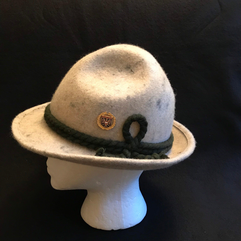 Alpine Bavarian Hiking Hat Wool Felt Tyrol Hat Austrian Etsy Hiking Hat Wool Felt Oktoberfest Hat