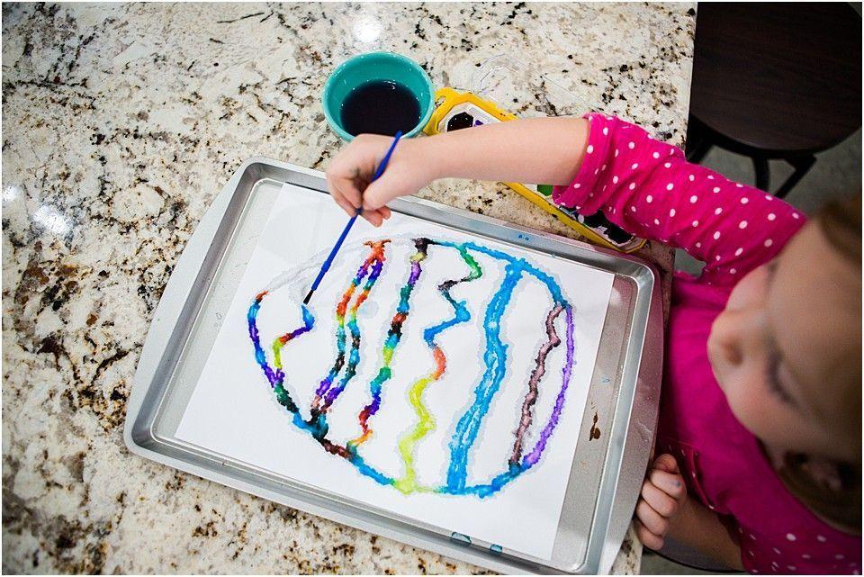 Spring Steam Science Experiment Raised Salt Painting Sixth Bloom Scienceexperimentsforpreschoolers Spring Steam Science Experiment Raised Salt In 2020 Science For Toddlers Steam Science Science Experiments For Preschoolers